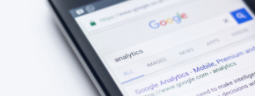 google-search-for-analytics-on-an-iphone